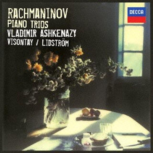 Vladimir Ashkenazy RACHMANINOV: PIANO TRIOS CD