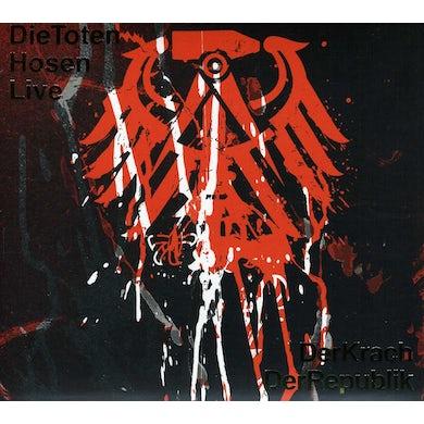 Die Toten Hosen LIVE: DER KRACH DER REPUBLIK CD