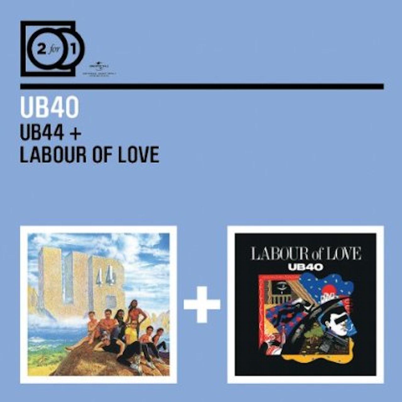Ub40 UB44 / LABOUR OF LOVE CD