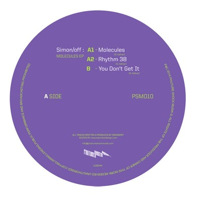 Simon/Off MOLECULES Vinyl Record