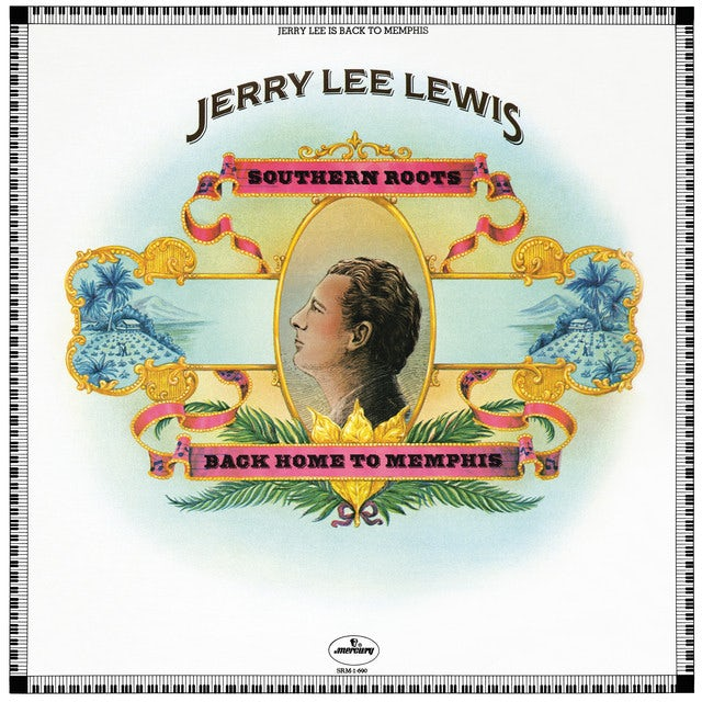 Jerry Lee Lewis SOUTHERN ROOTS Vinyl Record