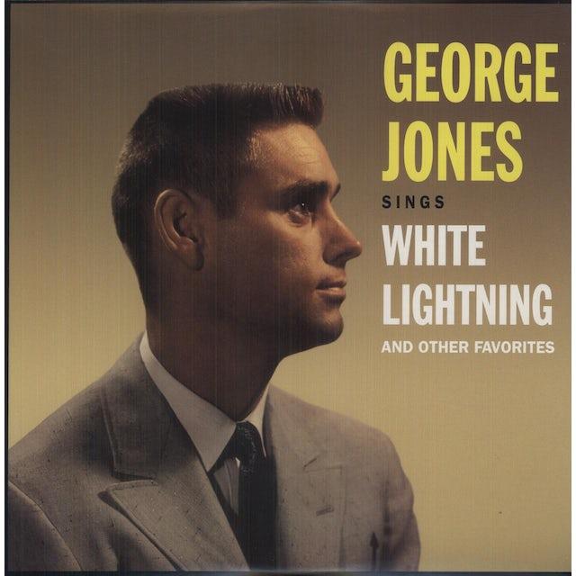 George Jones SINGS WHITE LIGHTNING & OTHER FAVORITES (Vinyl)