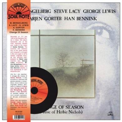 Steve Lacy CHANGE OF SEASON Vinyl Record