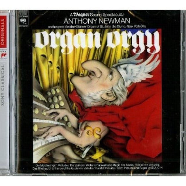 Anthony Newman ORGAN ORGY: WAGNER SOUND SPECTACULAR CD