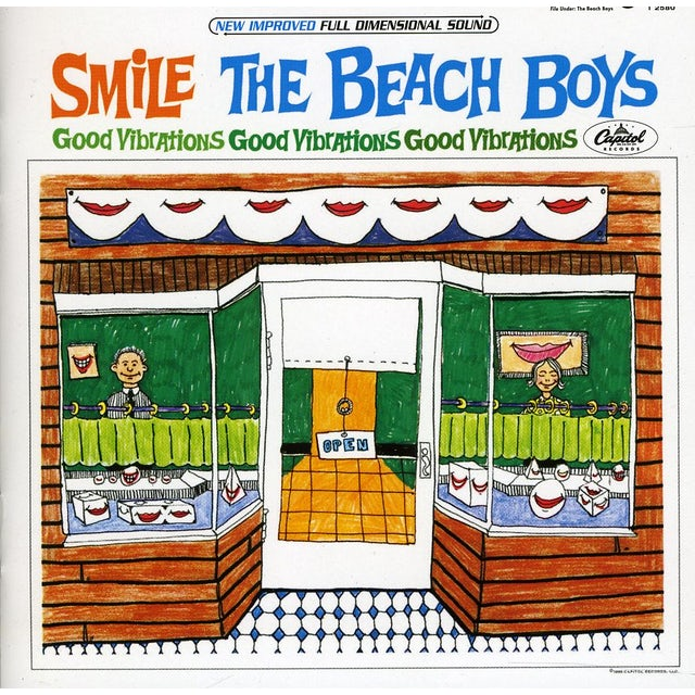 The Beach Boys SMILE SESSIONS CD