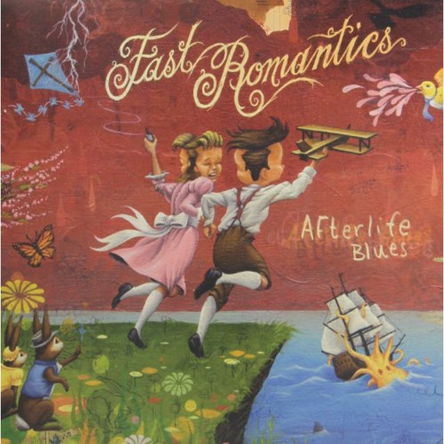 Fast Romantics AFTERLIFE BLUES Vinyl Record