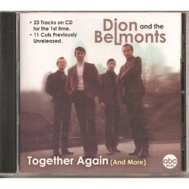 Dion & The Belmonts TOGETHER AGAIN & MORE CD