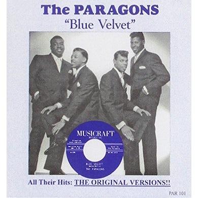 The Paragons BLUE VELVET / BEST OF CD