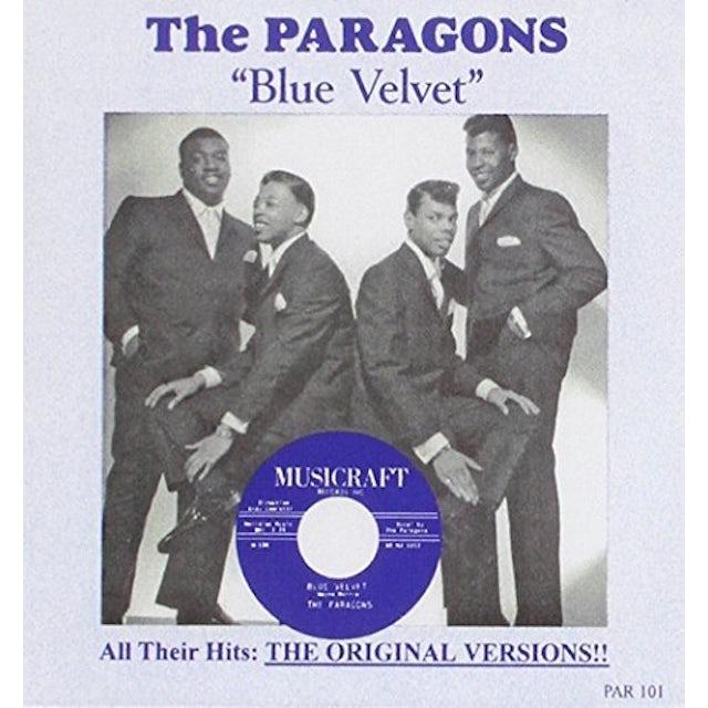 Paragons BLUE VELVET / BEST OF CD