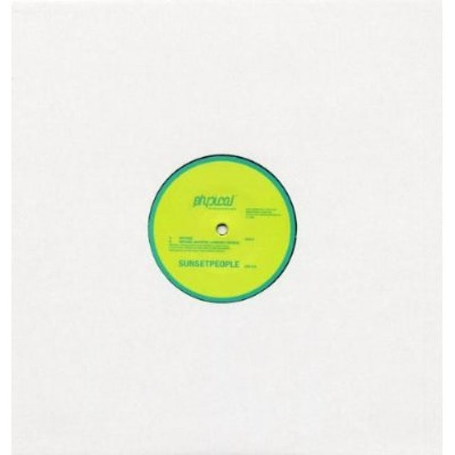 Sunsetpeople MIFUNE Vinyl Record