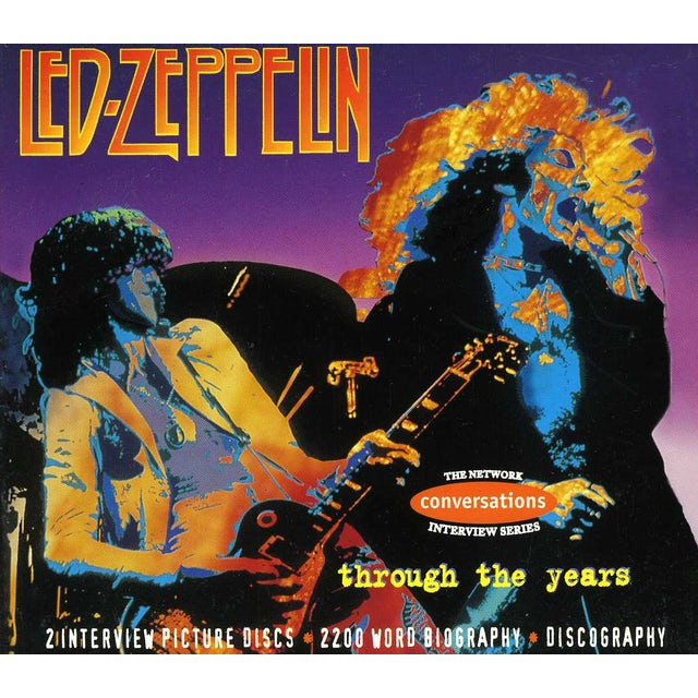 Led Zeppelin THROUGH THE YEARS-INTERVIEWS BIOGRAPHY CD