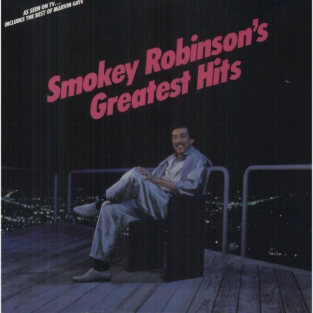 Gaye/Robinson GREATEST HITS Vinyl Record