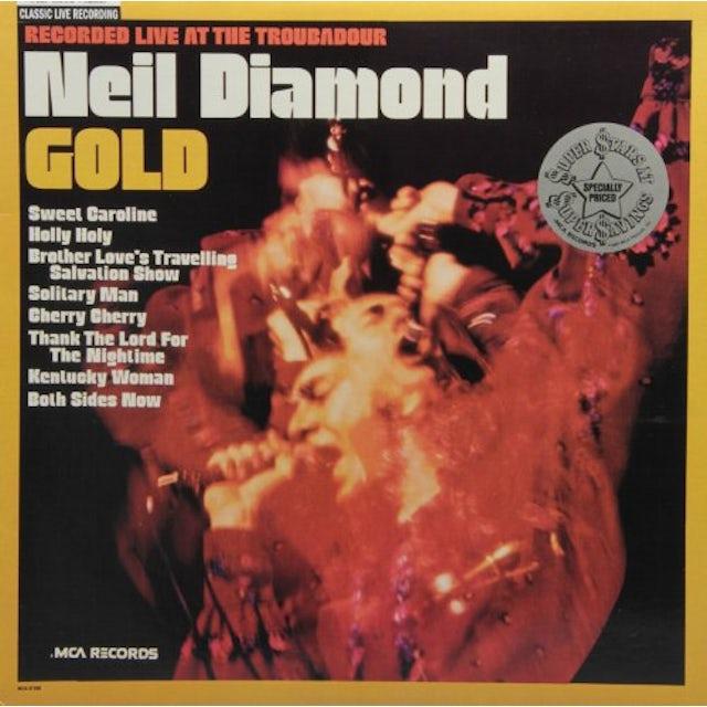 Neil Diamond GOLD (LIVE AT THE TROUBADOR) Vinyl Record