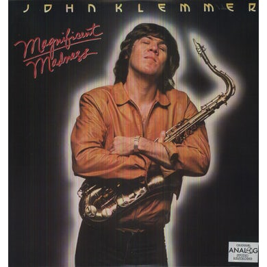John Klemmer MAGNIFICENT MADNESS Vinyl Record