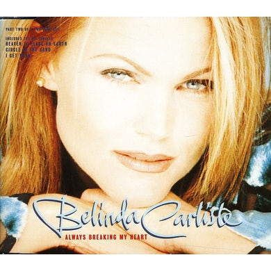 Belinda Carlisle ALWAYS BREAKING MY HEART CD