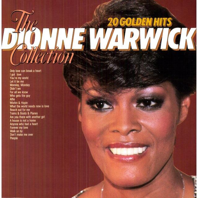 Dione Warwick 20 GOLDEN HITS Vinyl Record