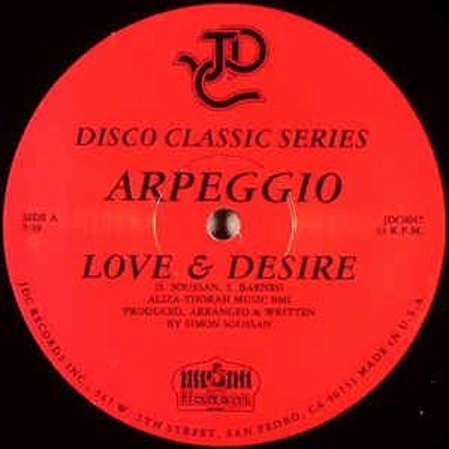 Arpeggio LOVE & DESIRE / FRENCH KISS PA Vinyl Record