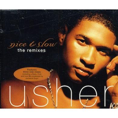 Usher NICE & SLOW EP CD
