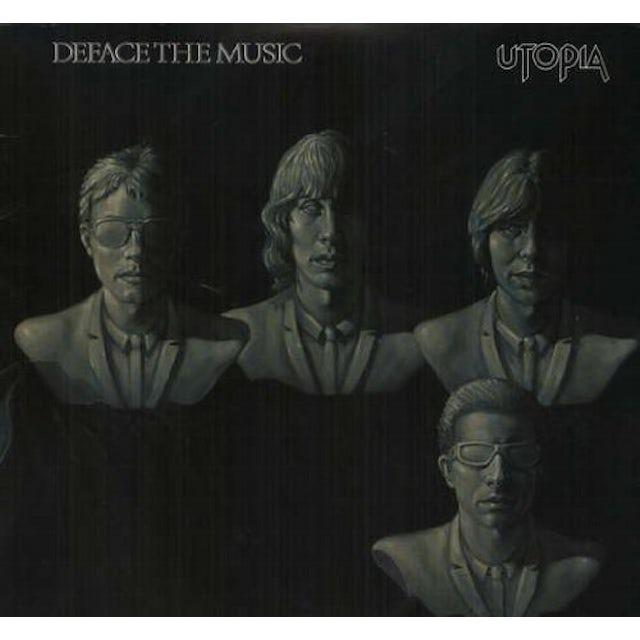 Utopia DEFACE THE MUSIC Vinyl Record