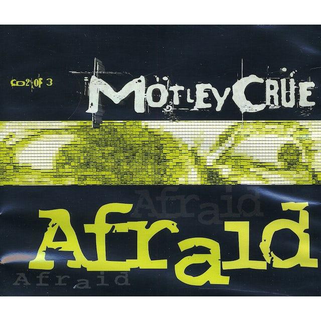 Mötley Crüe AFRAID (REMIX) CD