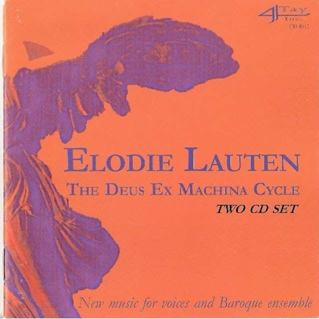 Elodie Lauten DEUS EX MACHINA CYCLE CD