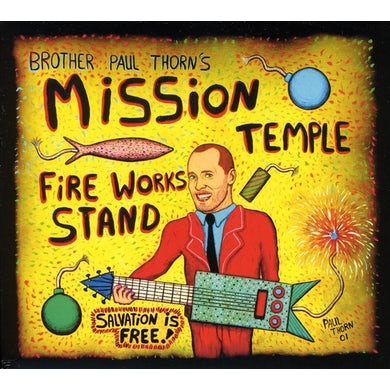 Paul Thorn MISSION TEMPLE FIREWORKS STAND CD
