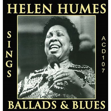 Helen Humes SINGS BALLADS & BLUES CD