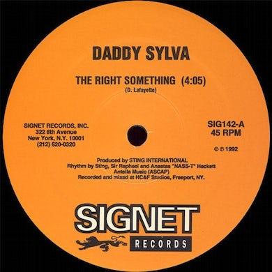 Daddy Terror Fabulous Sylva RIGHT SOMETHING / WEDDING RING Vinyl Record