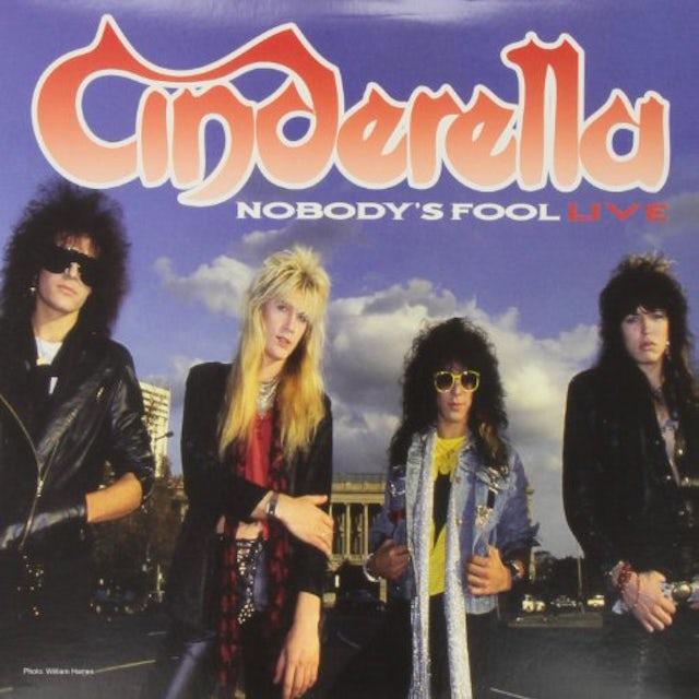 Cinderella NOBODYS FOOL Vinyl Record