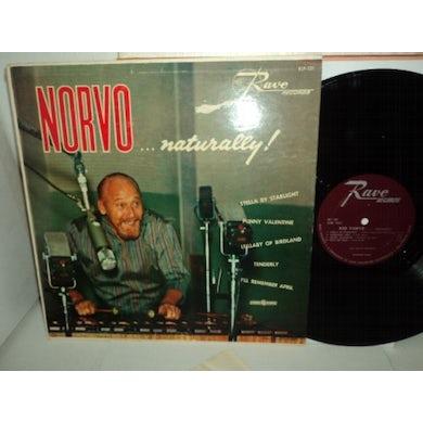 Red Norvo NORVO NATURALLY Vinyl Record