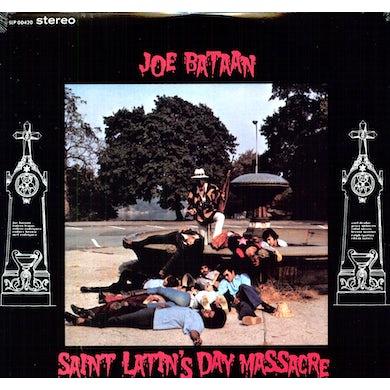 Joe Bataan SAINT LATIN'S DAY MASSACRE Vinyl Record