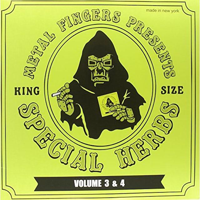 MF DOOM SPECIAL HERBS 3 & 4 Vinyl Record