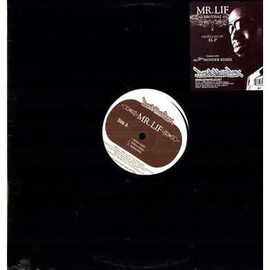 Mr Lif BROTHAZ Vinyl Record