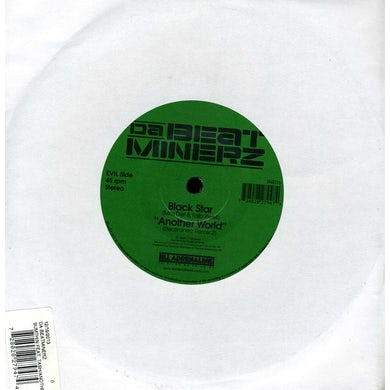 Da Beatminerz SUMTHIN / ANOTHER WORLD Vinyl Record