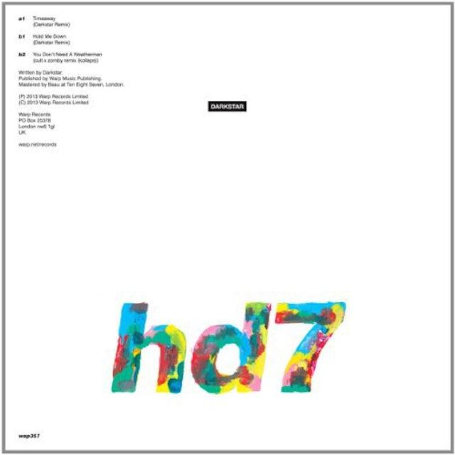 Darkstar HD7 Vinyl Record