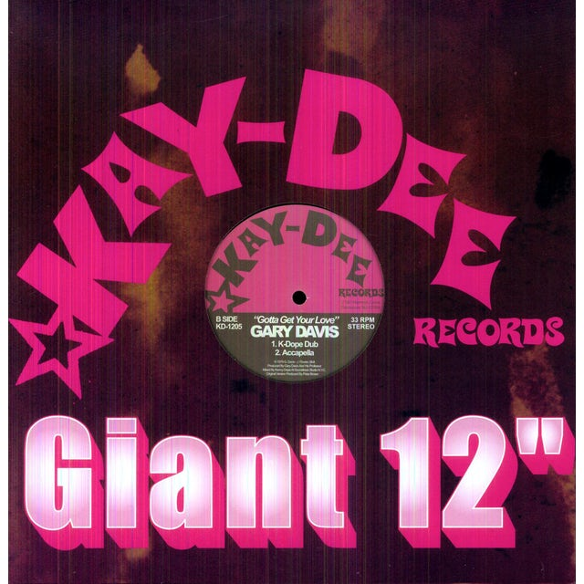 Gary Davis & Sanction GOTTA GET YOUR LOVE Vinyl Record