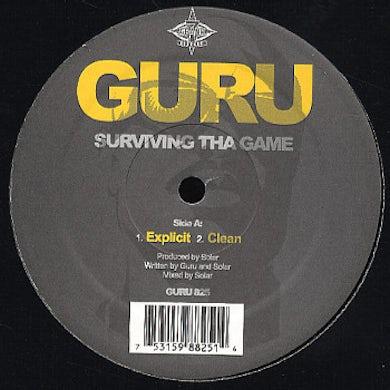 Guru SURVIVING THE GAME Vinyl Record