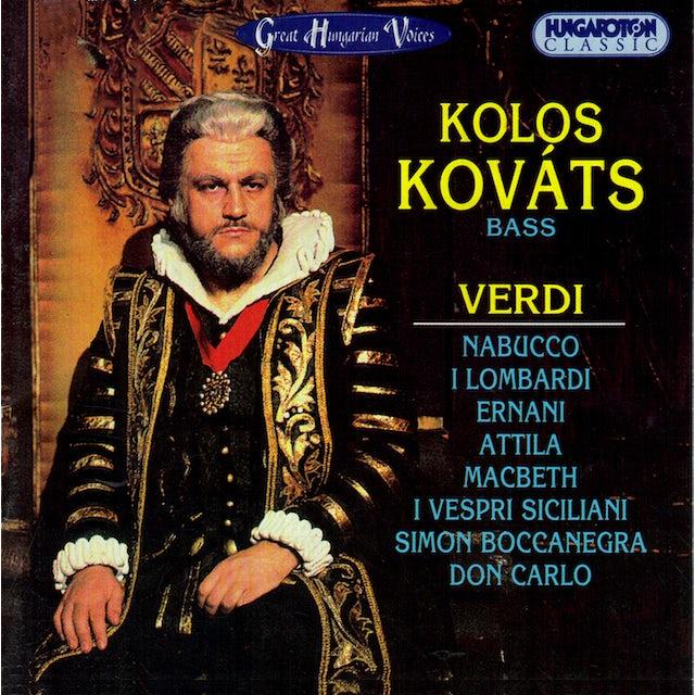 Verdi KOLOS KOVATS: BASS CD