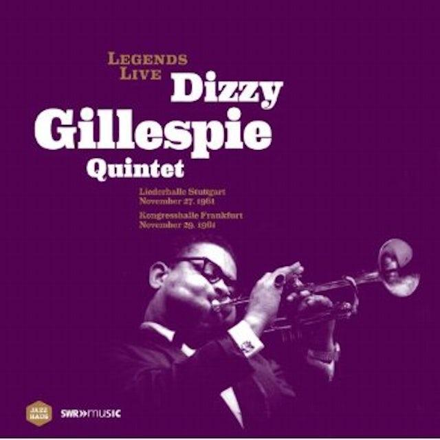 LEGENDS LIVE: DIZZY GILLESPIE QUINTET Vinyl Record