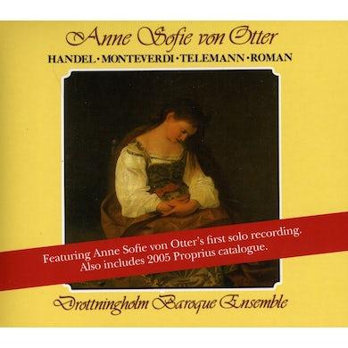 Drottningholm Baroque Ensemble ANNE SOFIE VON OTTER SINGS HAN CD