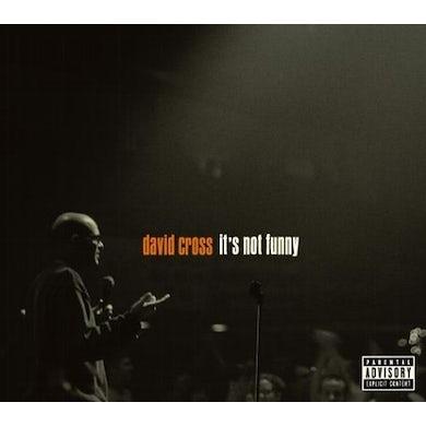 David Cross IT'S NOT FUNNY Vinyl Record