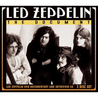 Led Zeppelin DOCUMENT UNAUTHORIZED CD