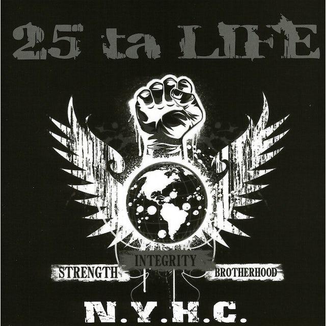 25 Ta Life STRENGTH INTEGRITY BROTHERHOOD CD