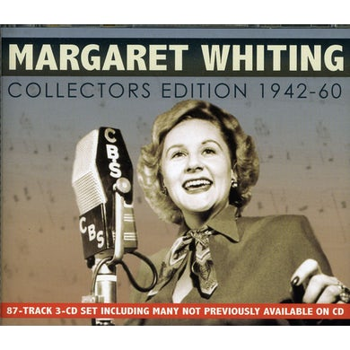 Margaret Whiting COLLECTORS EDITION 1942-60 CD