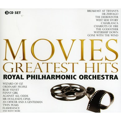 Royal Philharmonic Orchestra MOVIES GREATEST HITS CD