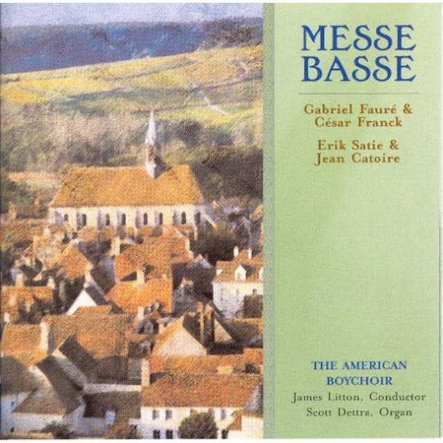 American Boychoir MESSE BASSE CD