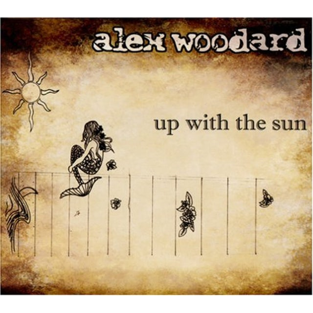 Alex Woodard UP WITH THE SUN CD