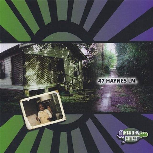 Anthony James 47 HAYNES LANE CD