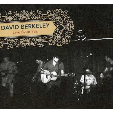 David Berkeley LIVE FROM FEZ CD