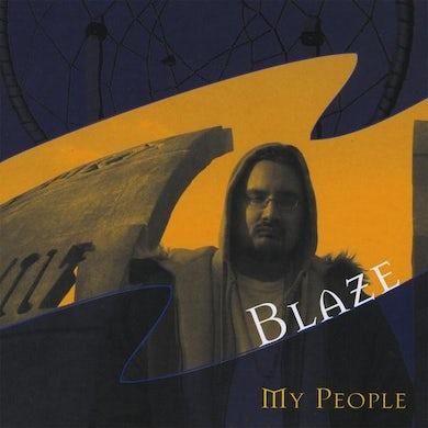 The Blaze MY PEOPLE CD